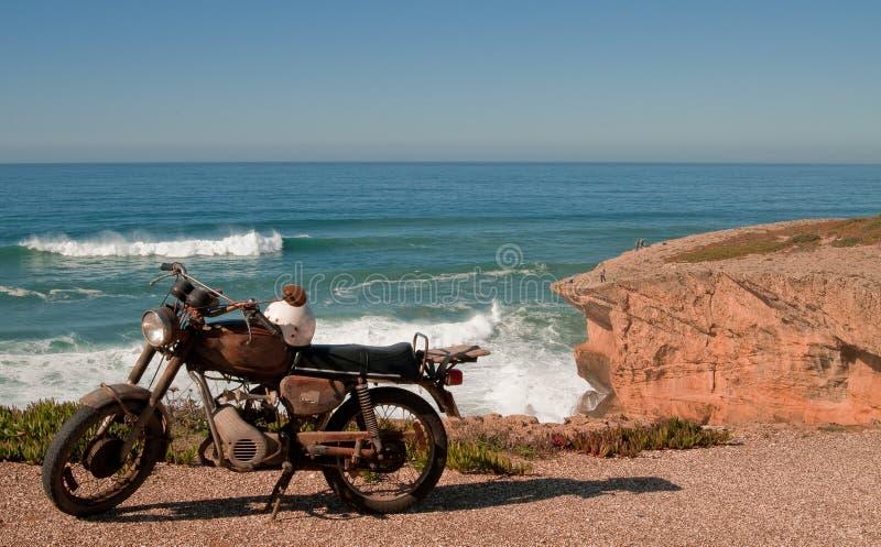 motocykl stary obrazy stock