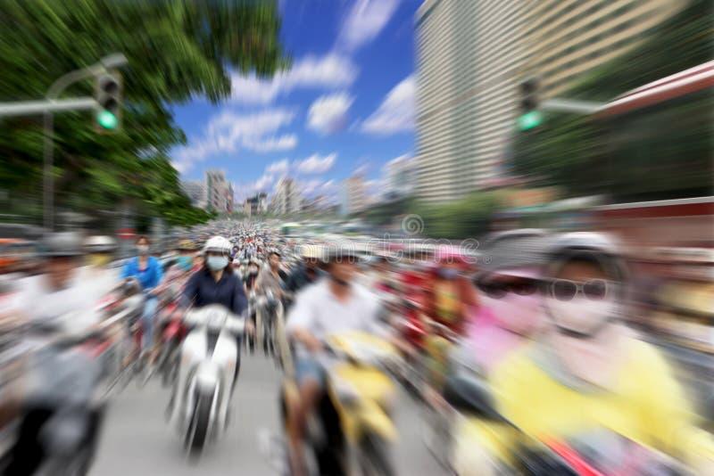 Motocykle Wietnam obrazy stock
