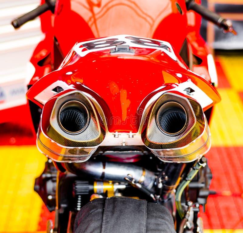 motocykli/lów target2044_0_ obraz stock