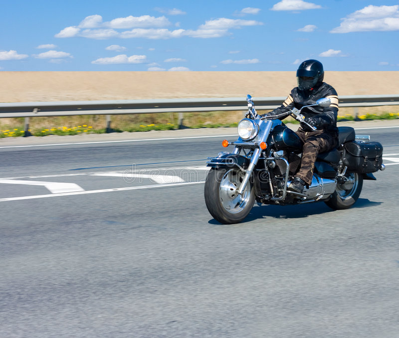 motocyklista obrazy stock