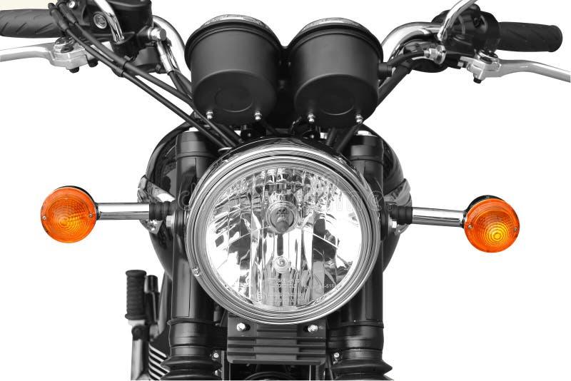 Motocyklu frontowy światło zdjęcia royalty free