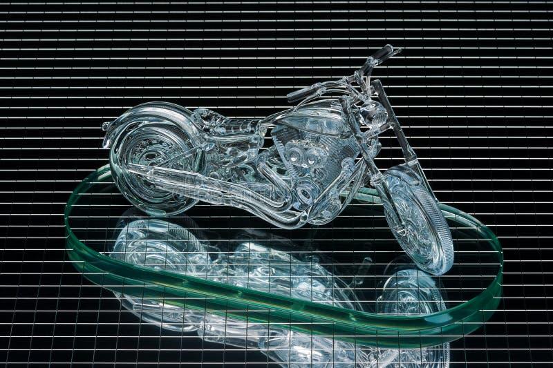 Motocyklu model obrazy stock