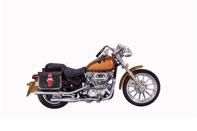 Motocyklu model obrazy royalty free
