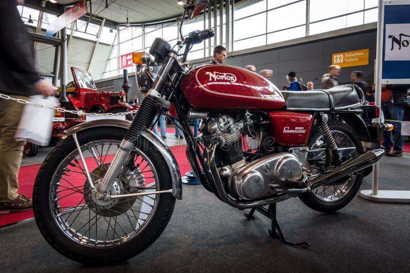 Motocyklu Norton desantowiec 850, 1973 obrazy stock
