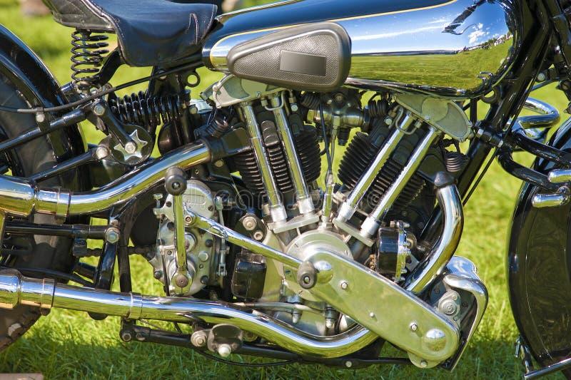 Motocyklu silnik zdjęcie stock