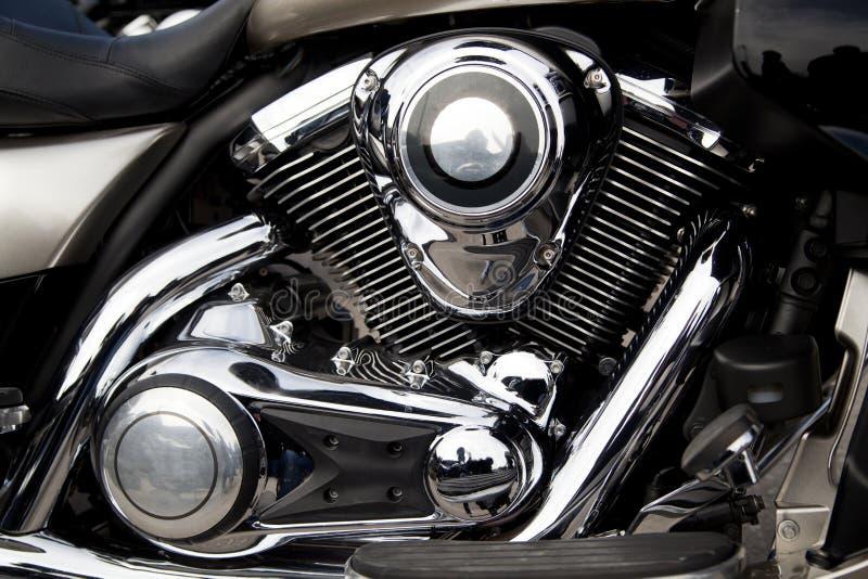 Motocyklu silnik, silnik zdjęcia stock