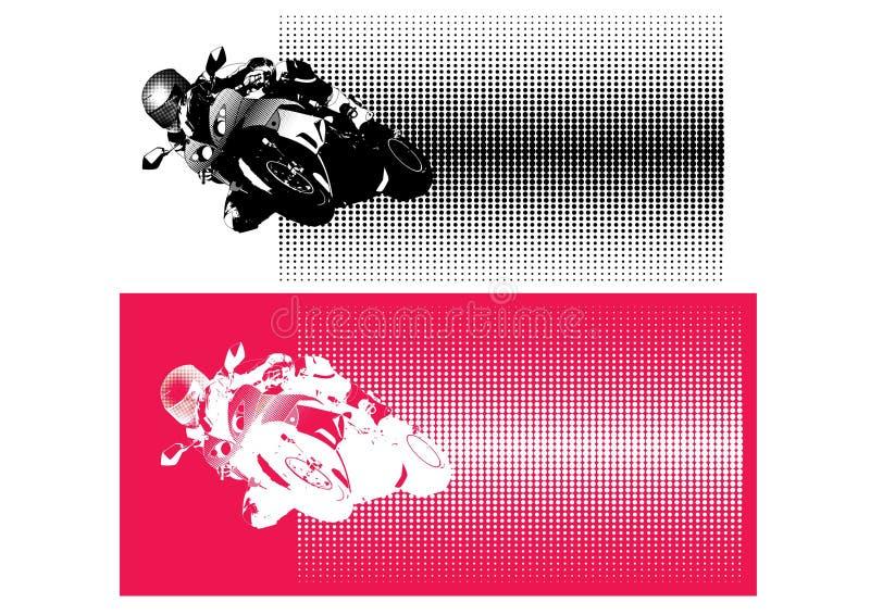 motocyklu sport royalty ilustracja
