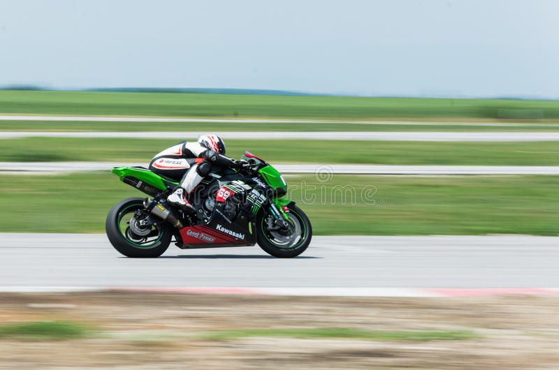 MotoGP που συναγωνίζεται τη Βουλγαρία στοκ φωτογραφία