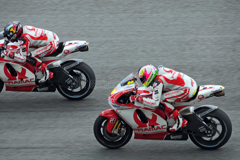 MotoGP fotografía de archivo