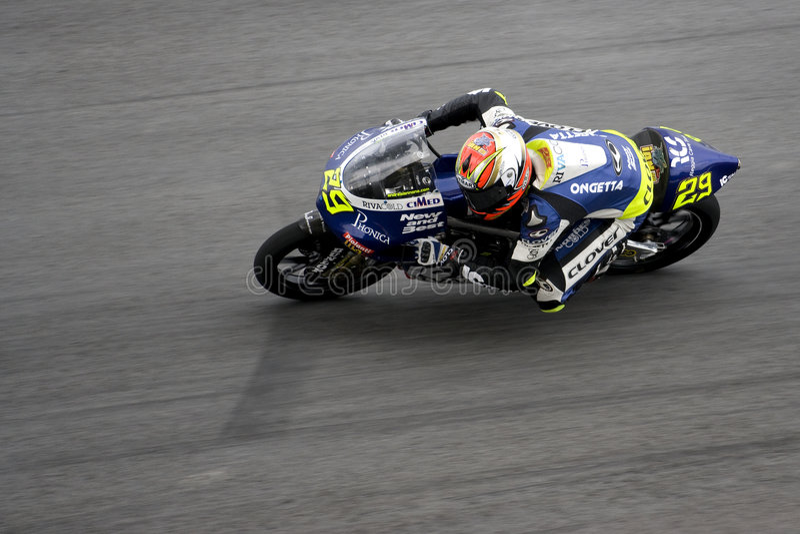 Download Motogp 125cc - Andrea Iannone Editorial Stock Image - Image of championship, sports: 7287394