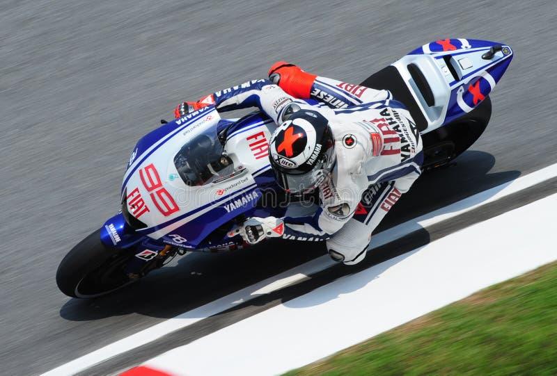 MotoGP 2009 fotografía de archivo libre de regalías
