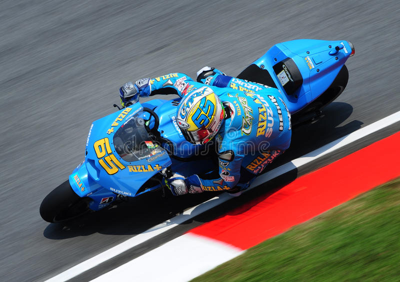 MotoGP 2009 fotografia stock libera da diritti