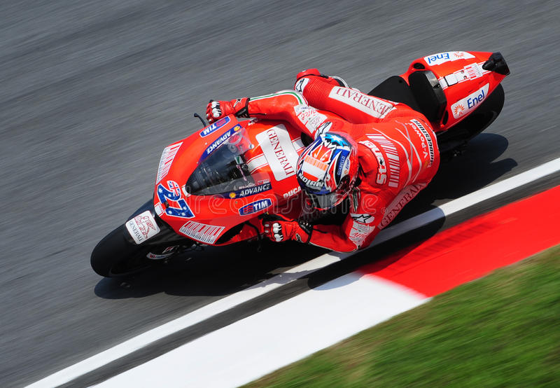 MotoGP 2009 immagini stock