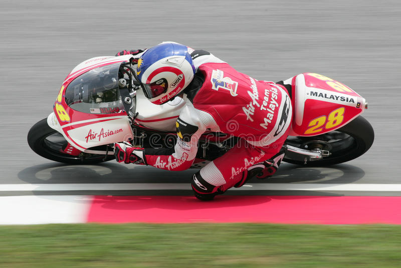 MotoGP 2009 - Elly Idzlianizar Ilias fotos de stock royalty free