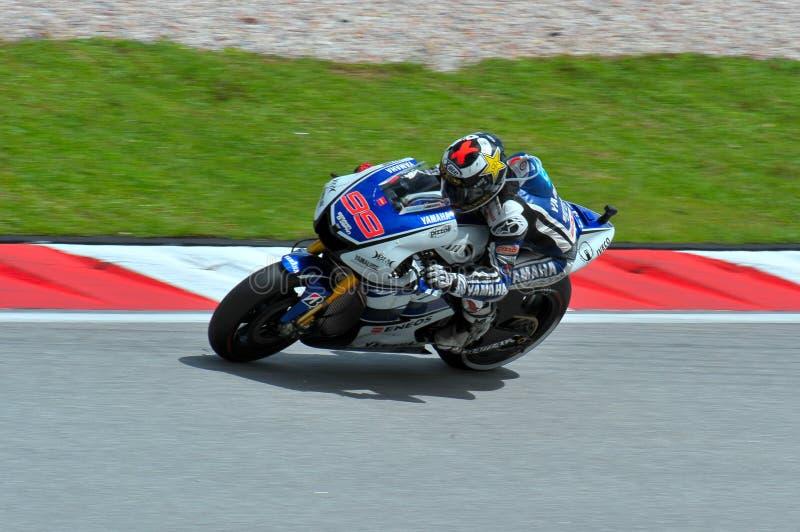 MotoGP fotografia stock libera da diritti