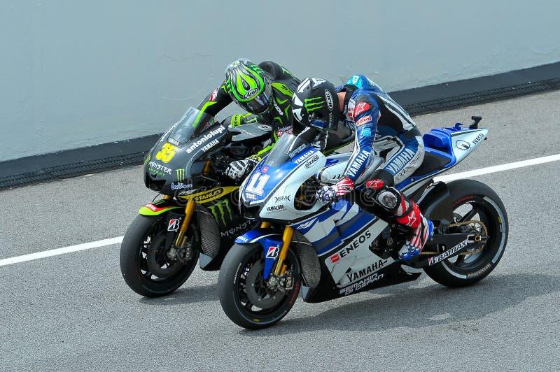 MotoGP 免版税库存图片