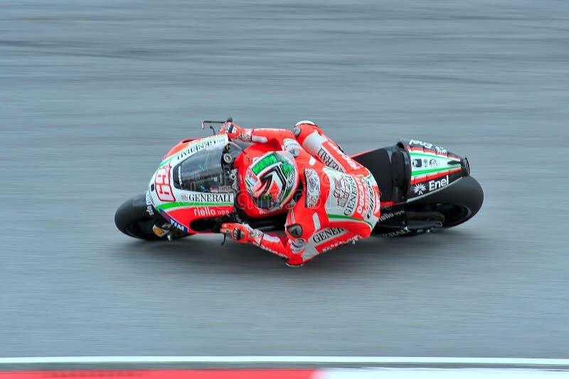 MotoGP 免版税库存照片