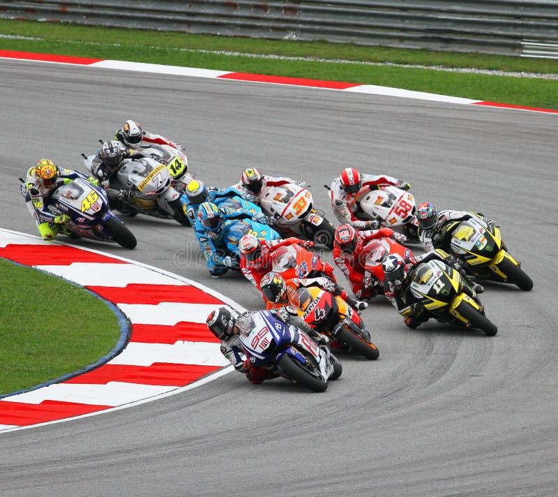 MotoGP 001 photographie stock