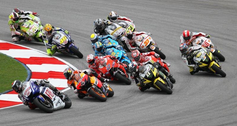 MotoGP 002 lizenzfreie stockfotos