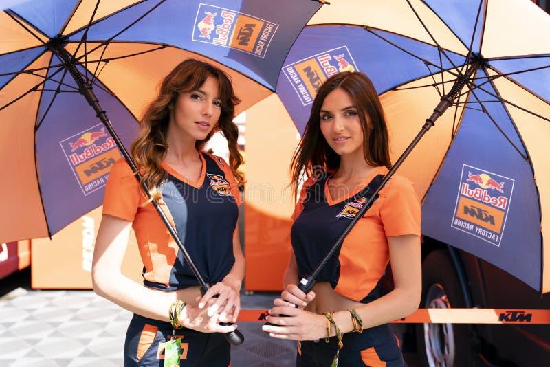 MotoGP Catalunya Grand Prix 2019 fotografía de archivo libre de regalías