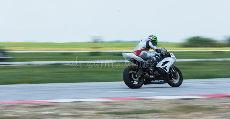 MotoGP, das Bulgarien läuft lizenzfreie stockfotos