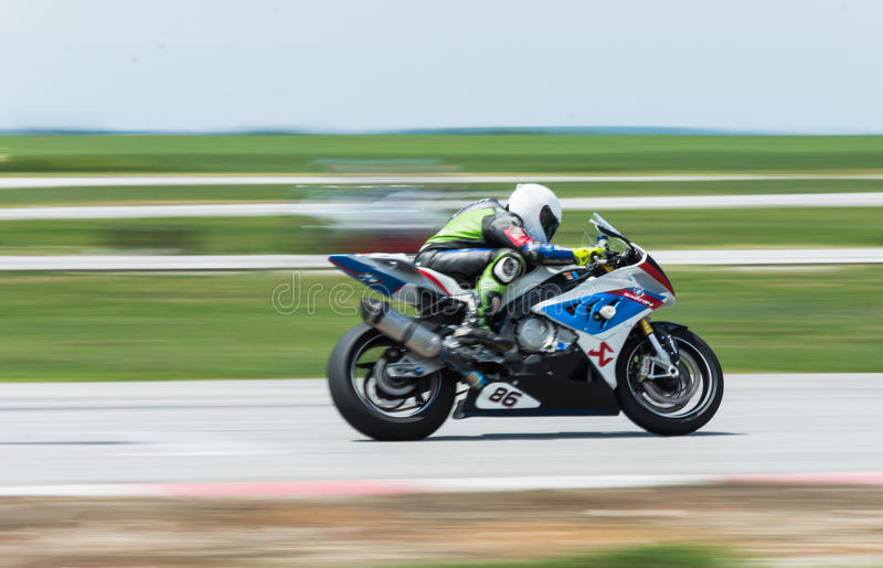 MotoGP, das Bulgarien läuft lizenzfreies stockfoto