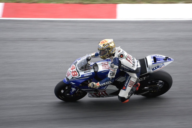 Download Motogp - Jorge Lorenzo fotografia stock editoriale. Immagine di campionati - 7312008