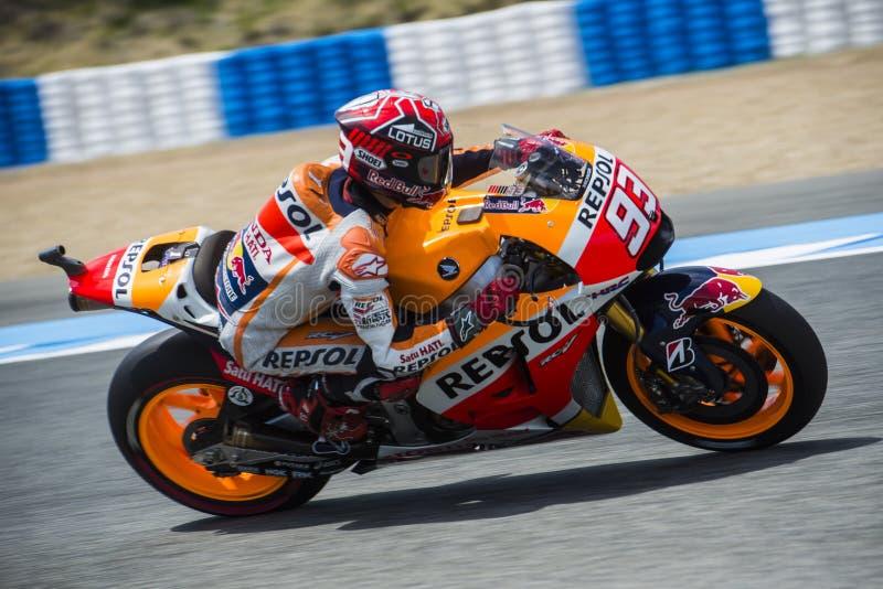 MOTOGP 2015, Marc Marquez arkivbild