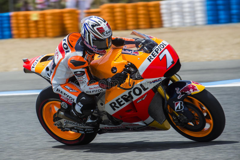 MOTOGP 2015, Marc Marquez royaltyfria foton