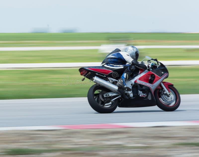 MotoGP que compite con Bulgaria imágenes de archivo libres de regalías