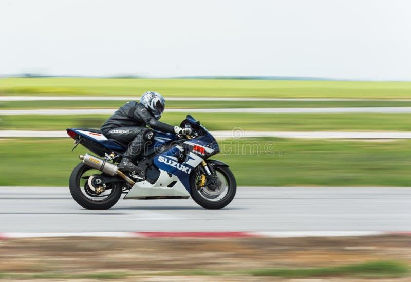 MotoGP racing Bulgaria royalty free stock photos