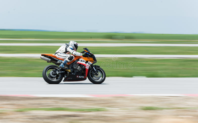 MotoGP racing Bulgaria royalty free stock photography