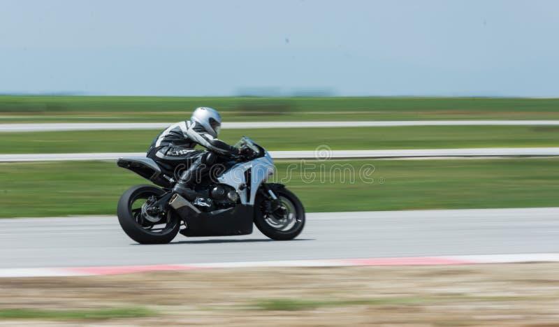 MotoGP racing Bulgaria royalty free stock photo