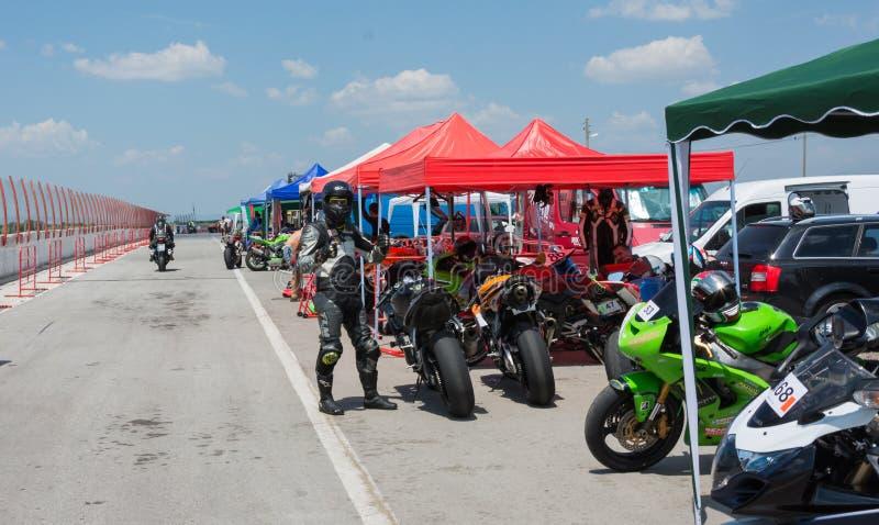 MotoGP racing Bulgaria stock photography