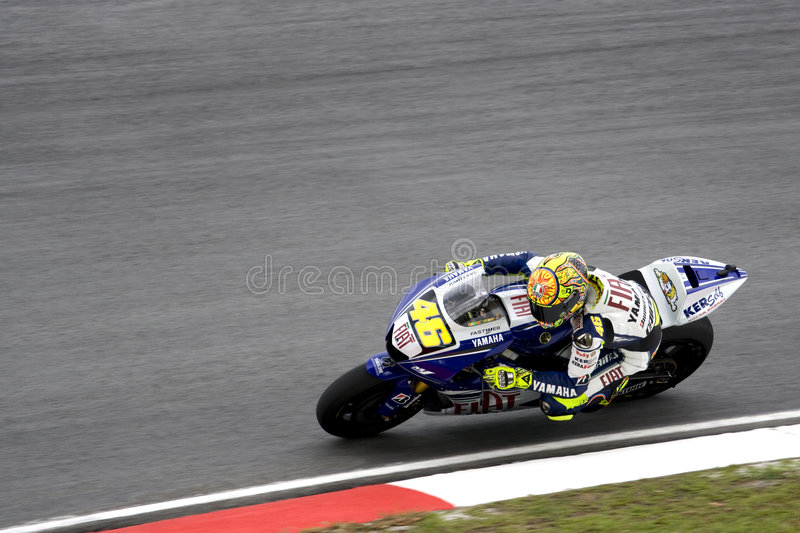 Motogp - Valentino Rossi stock photo