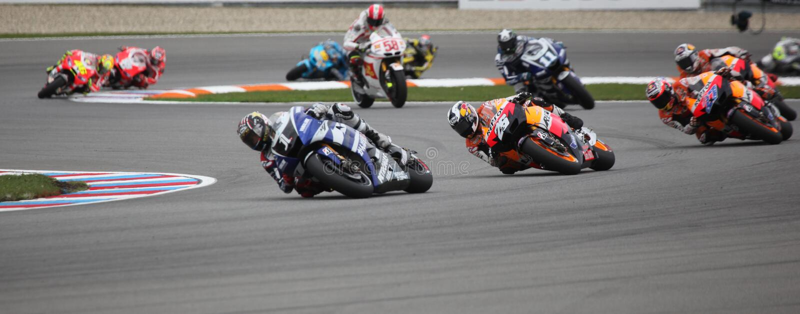 MotoGP Weltmeisterschaft in Brno 2011 lizenzfreies stockbild
