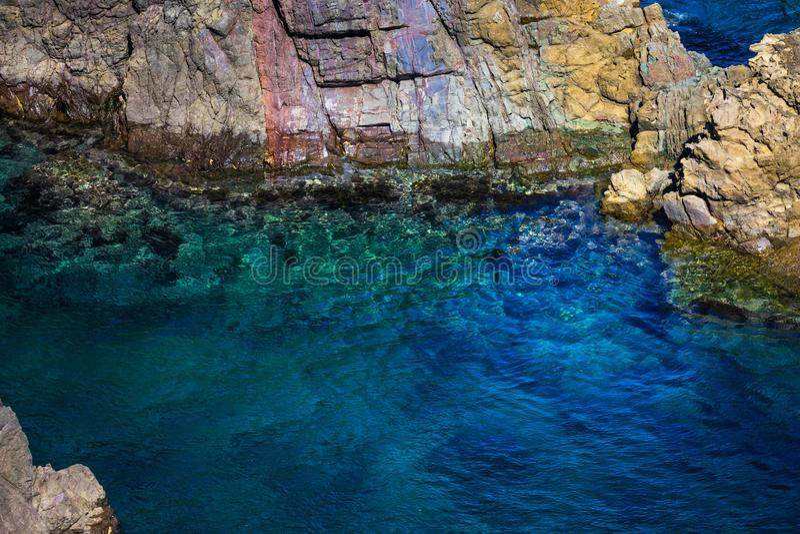 Motonosumi Inari Shrine Rock Formations stock photos