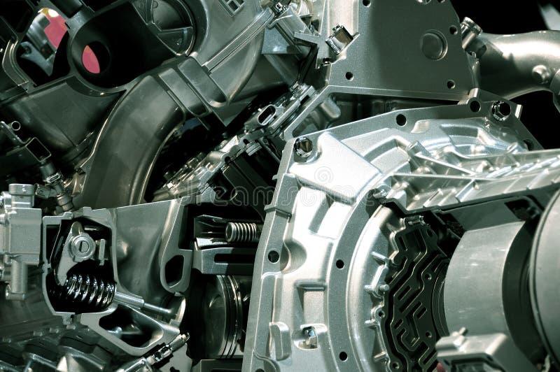 Motor-Übertragung lizenzfreie stockfotos