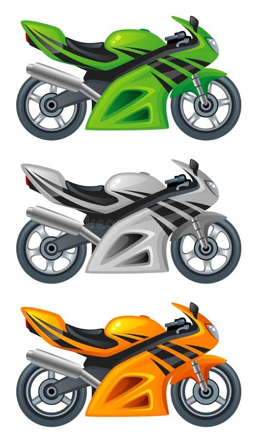 Motor stock illustratie