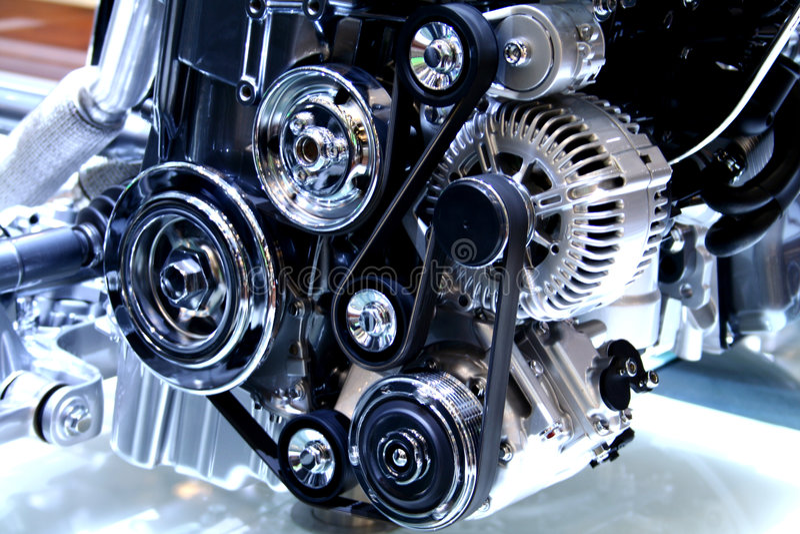 Motor stock afbeelding