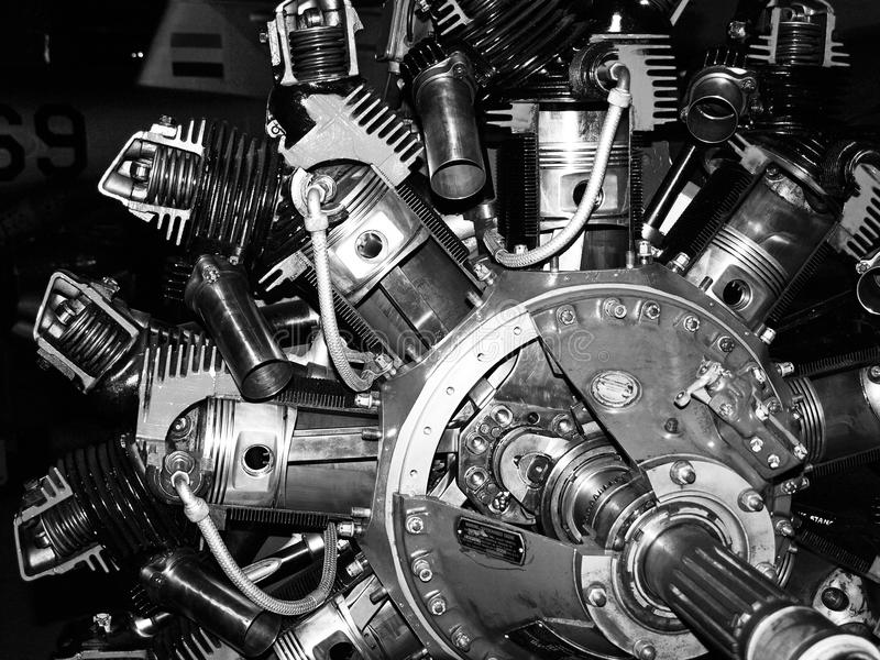 Motor fotografia de stock