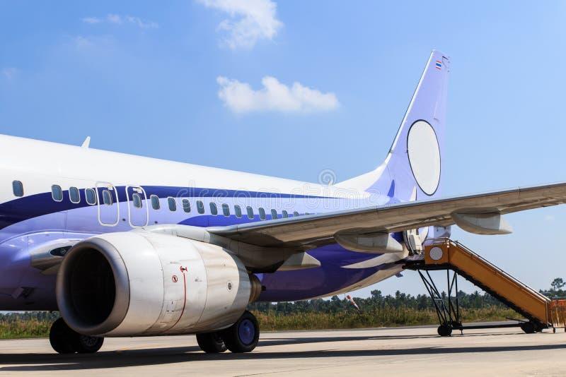 Motor av flygplanet arkivfoto