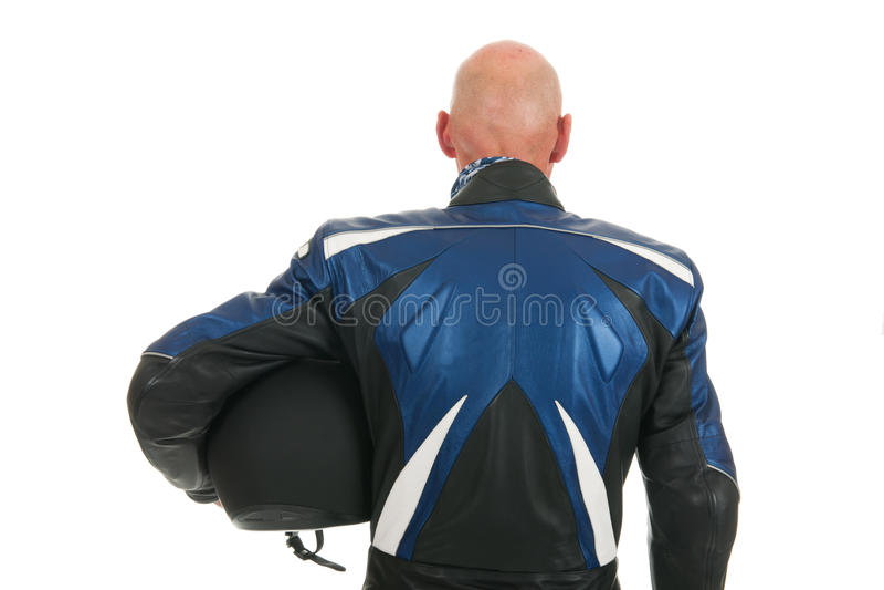 Download Motor biker stock image. Image of isolated, blue, bald - 28001369