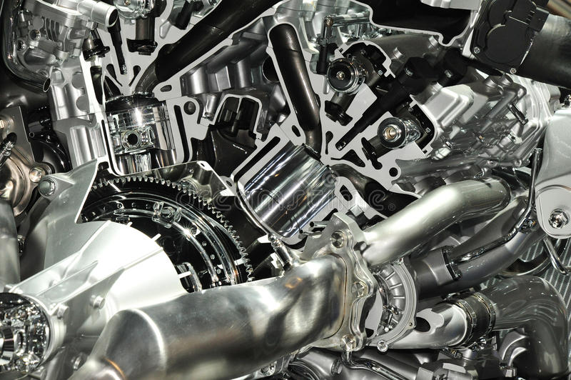 Motor binnen stock foto's