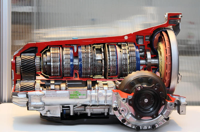Motor binnen royalty-vrije stock afbeelding