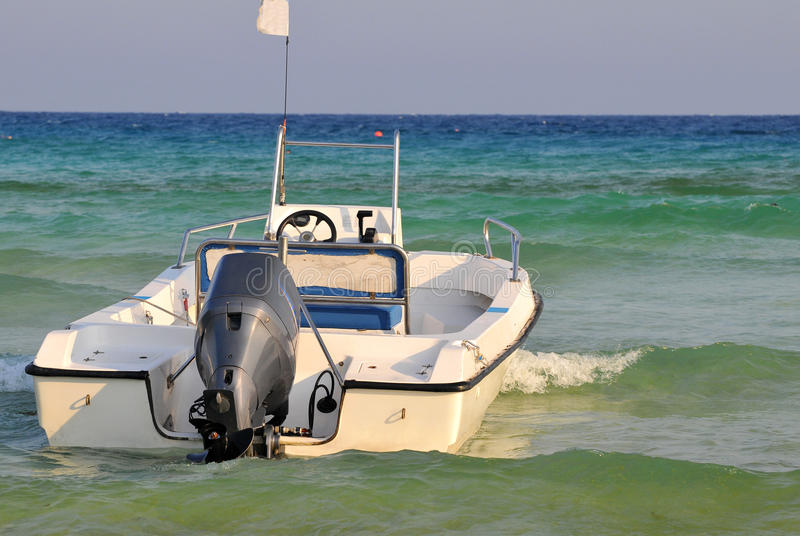 Download Motor boat stock image. Image of ship, concepts, boating - 12267769