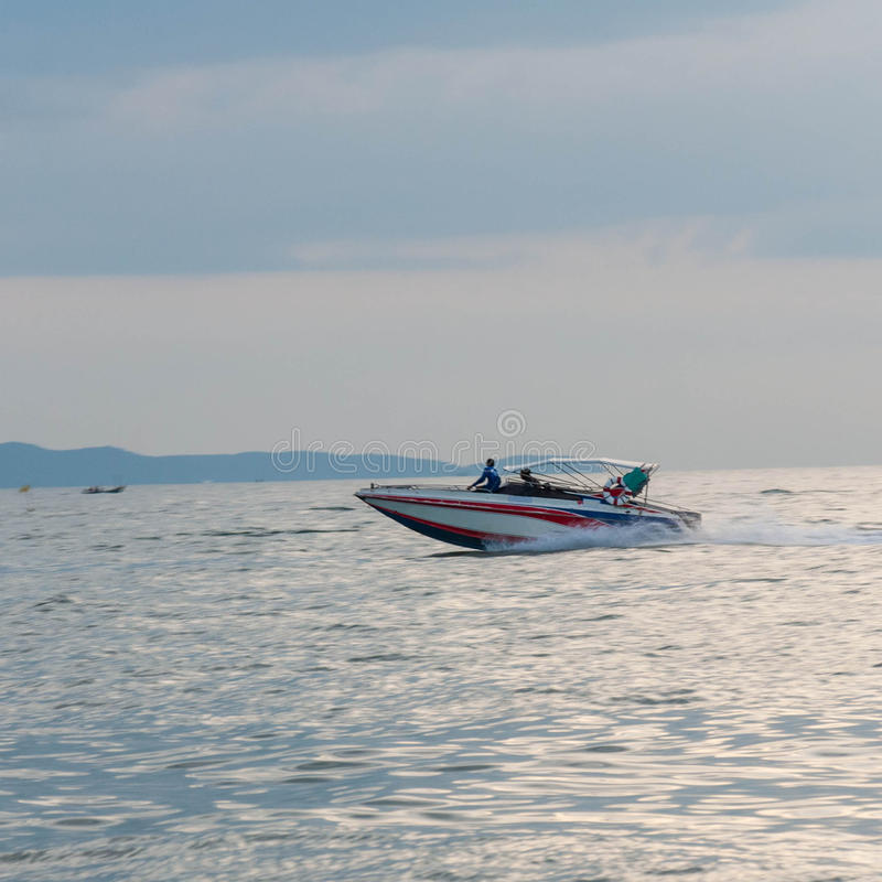 Download Motor Boat Driving Motion (Speed Boat) Stock Image - Image: 36168661