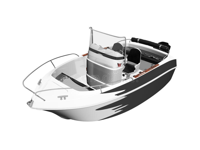 Download Motor Boat Isolated Royalty Free Stock Photo - Image: 14571295