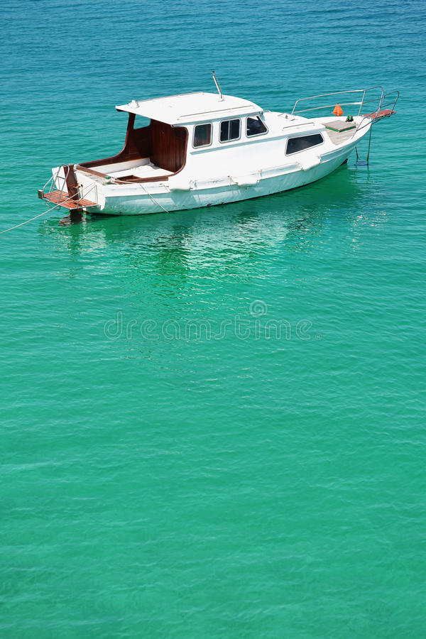 Download Motor Boat On The Sea Stock Images - Image: 24812504