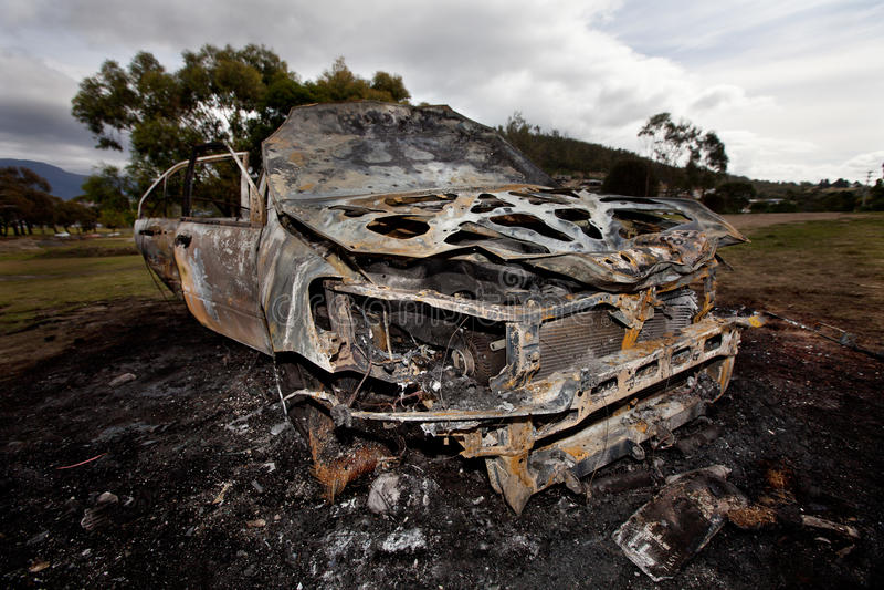 Download Motor Car Arson Royalty Free Stock Photos - Image: 19284138